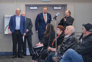 BC NDP Leader John Horgan visits IUOE Local 115's general membership meeting March 19th, 2016.