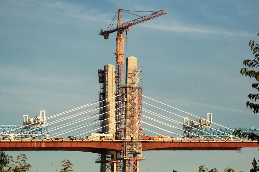 IUOE 115 Golden Ears Bridge pier