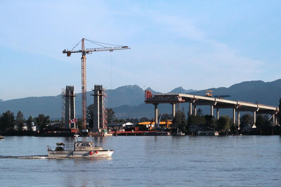 IUOE 115 Golden Ears Bridge piers