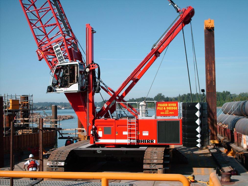 IUOE 115 Golden Ears Bridge dredging