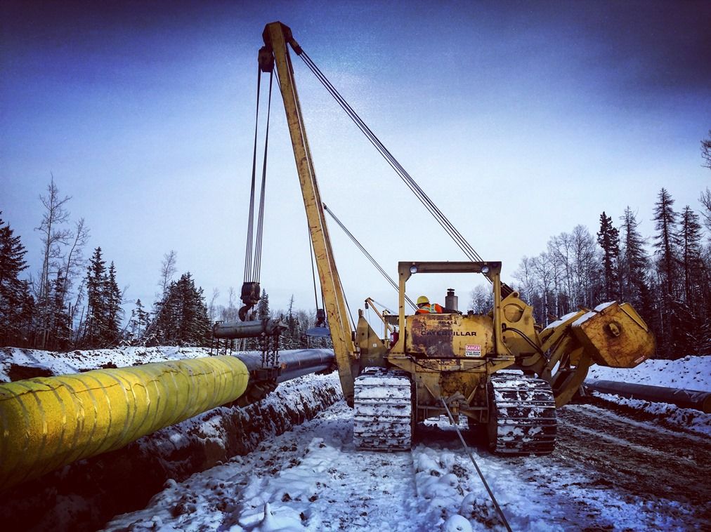 IUOE 115 pipeline construction Jackfish 4