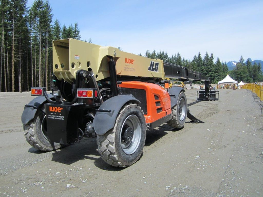 IUOE 115 training telehandler