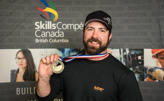 IUOE 115 Skills Canada BC 2018 Landon Kosior