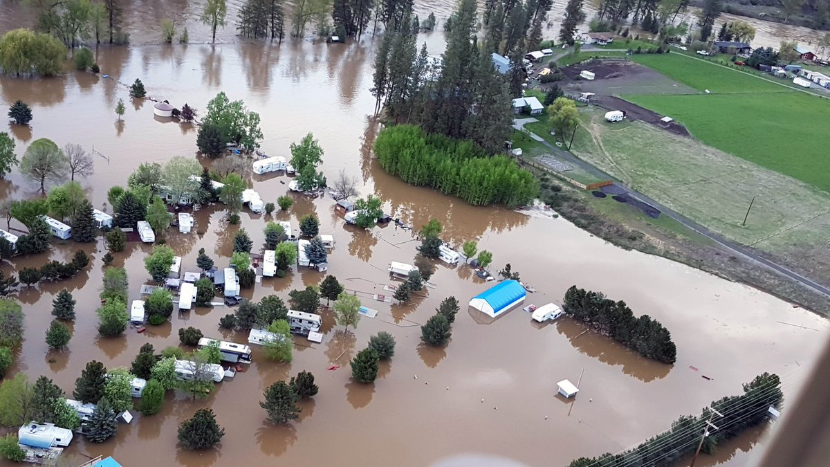 IUOE Local 115 offers assistance to members dealing with Flooding in BC.