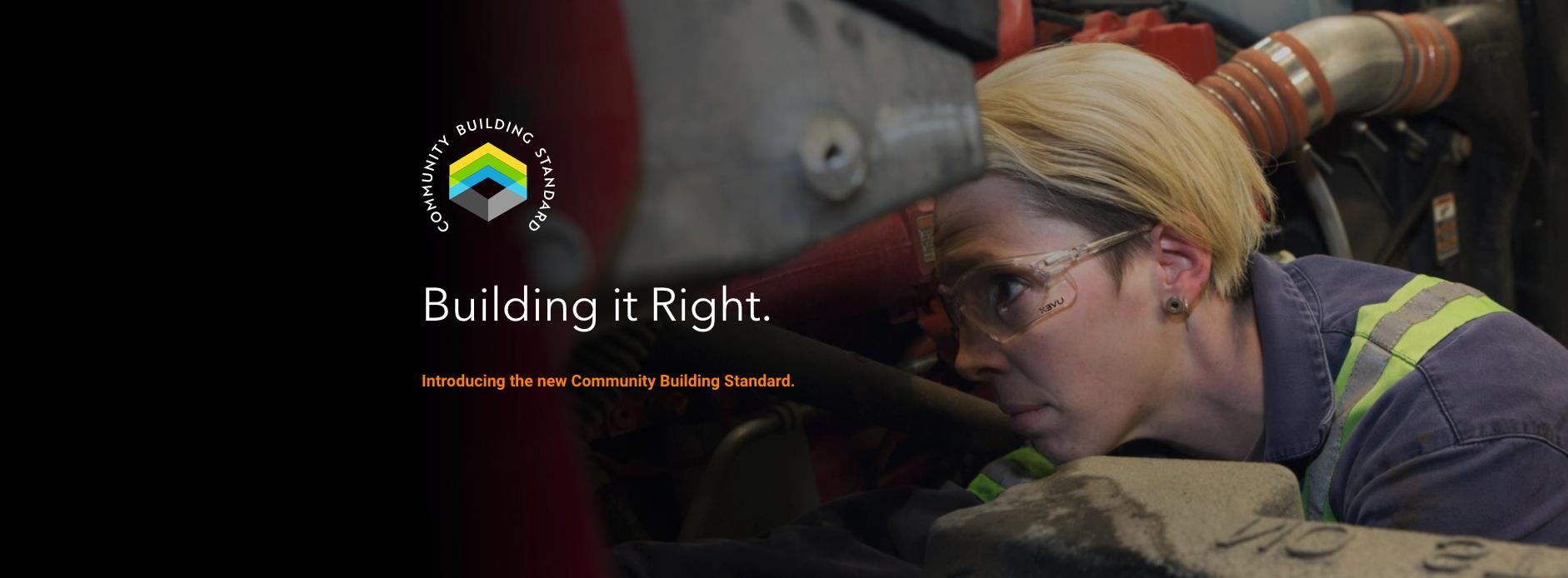 IUOE115 Community Building Standard