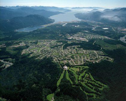 IUOE Local 115 Kitimat aerial photo