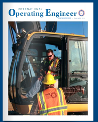 International Operating Engineer Summer 2019 cover